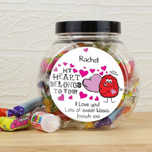 Love Monster Sweet Jar